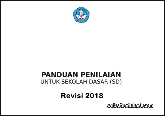 Panduan Penilaian Kurikulum 2013 SD Revisi 2018