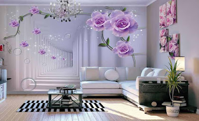 3D wallpaper for living room interior design 2019 (7)