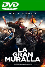 La gran muralla (2017) DVDRip