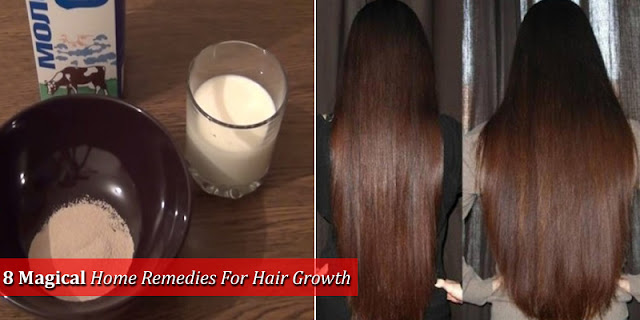 8 Magical Home Remedies For Hair Growth