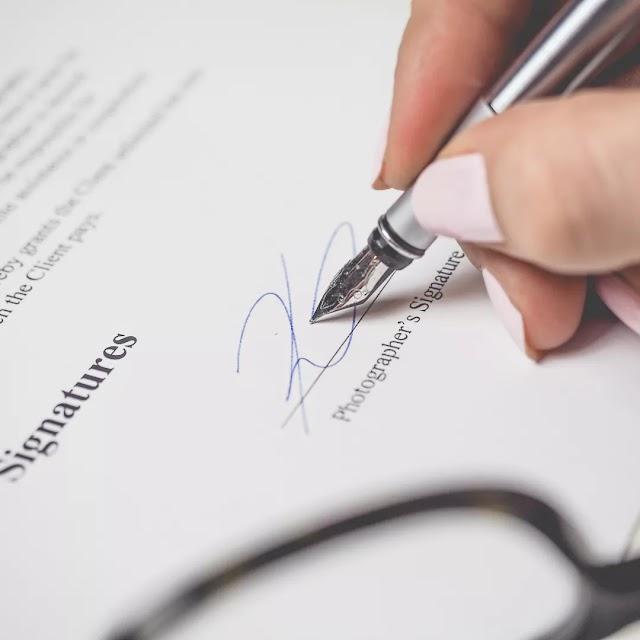 É obrigatório conter a assinatura de duas testemunhas em um  contrato? Acesse e saiba mais.