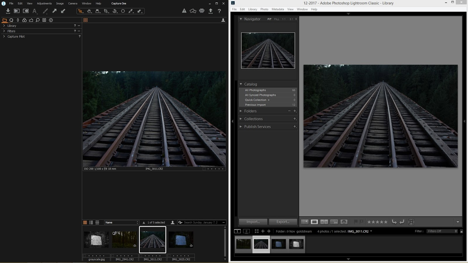 Adobe Lightroom vs Capture One