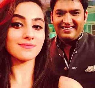 Diana Khan With Kapil Sharma