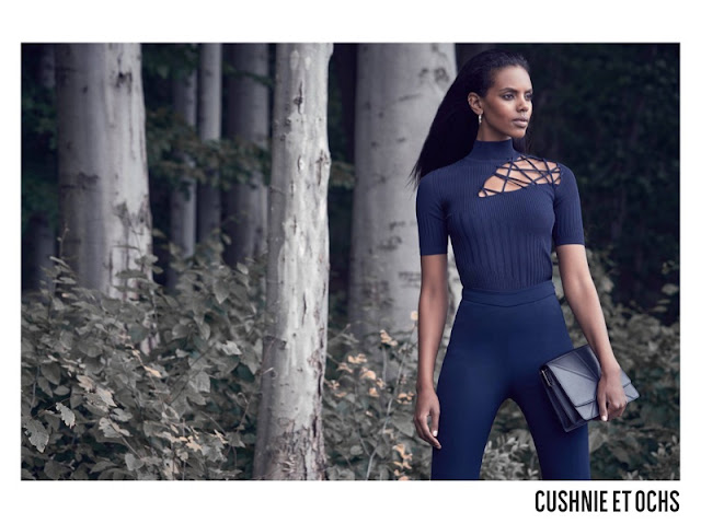 Grace Mahary for Cushnie et Ochs Fall/Winter 2017 Campaign