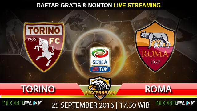 Prediksi Torino vs Roma 25 September 2016 (Liga Italia)