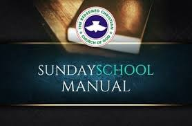8 December 2019 RCCG Sunday School Teens Teacher's Manual