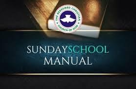 June 7 2020 RCCG SUNDAY SCHOOL STUDENT'S MANUAL