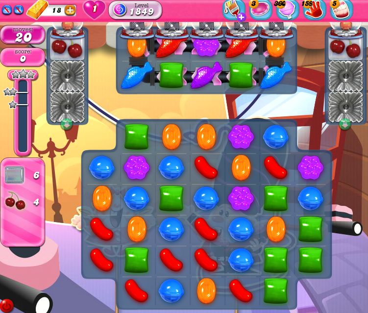Candy Crush Saga 1849