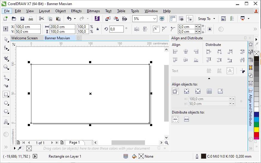 rectangle tool