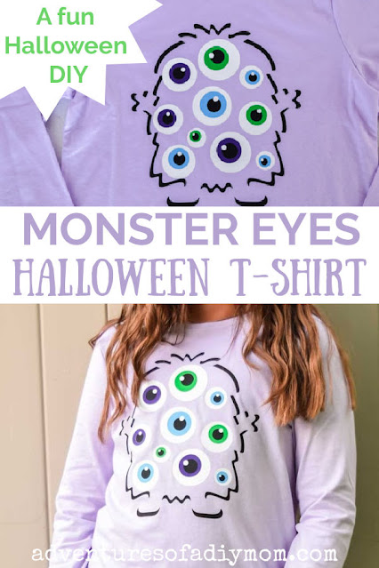 collage of monster eye t-shirt images