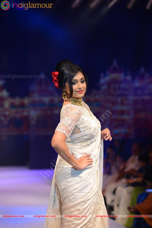 Sija Rose latest photos in saree from Kerala Fashion ...
