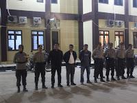 Jajaran Polres Serang Gelar Apel Pengamanan Malam Takbir Hari Raya Idul Fitri 1440 H