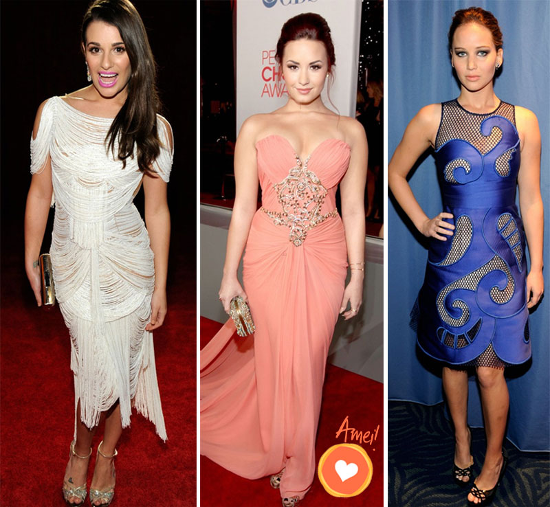 3 Os looks do Peoples Choice Awards 2012