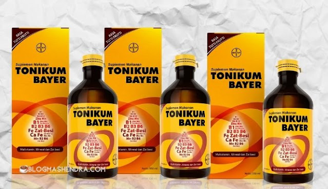 Minuman Suplemen dan Multivitamin Tonikum Bayer