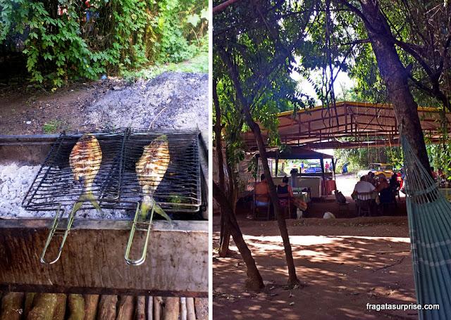 Barraca das Gêmeas, restaurante em Fernando de Noronha