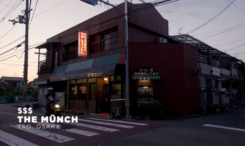 Kedai Kopi The Munch Osaka Jepang (youtube.com)