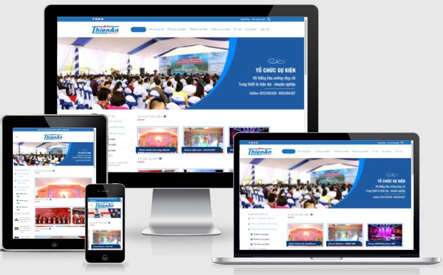 Theme wordpress công ty tổ chức sự kiện - sukien - Ảnh 1