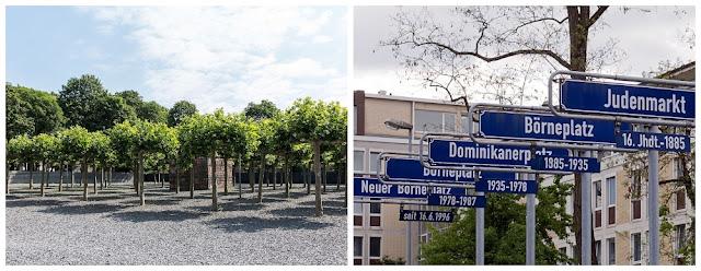 Memorial Neuer Börneplatz em Frankfurt