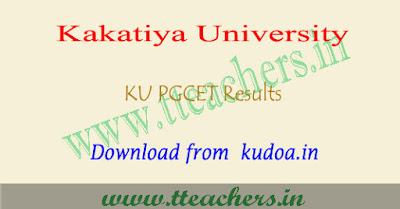 KU PGCET results 2018, Manabadi KUCET result download