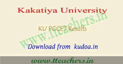 KU PGCET results 2018, Manabadi KUCET result download