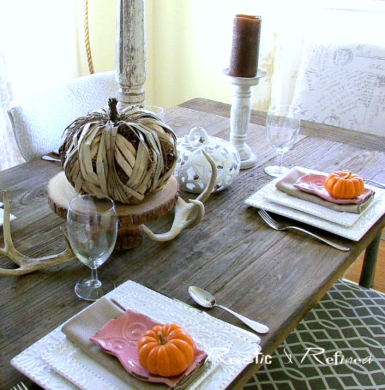 Quick and easy table setting