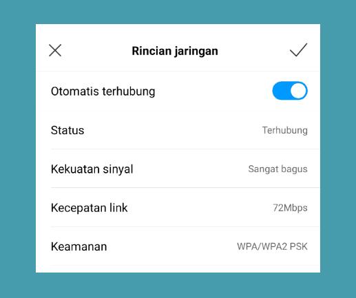 Periksa Sinyal WIFI