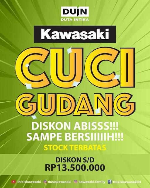 Cuci Gudang kawasaki Denpasar Bali 2019