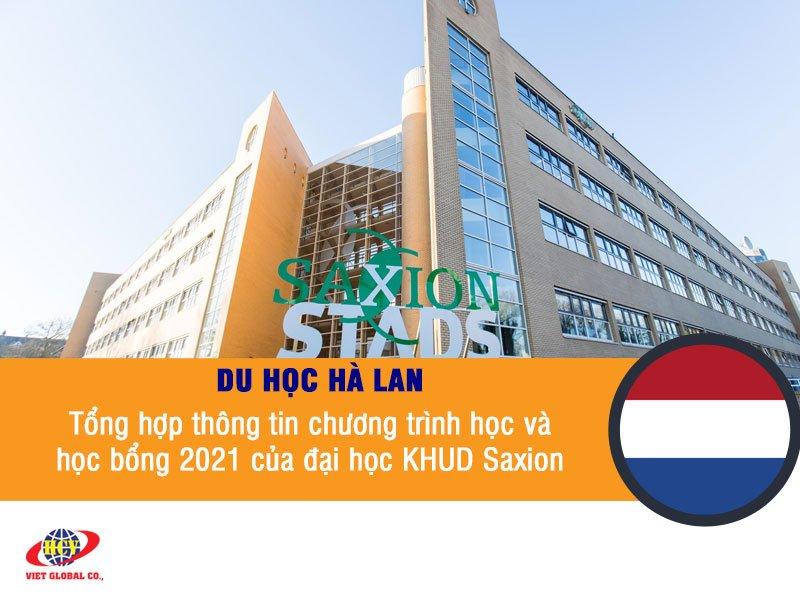Du học Hà Lan: Tổng hợp thông tin chương trình học và chính sách học bổng 2021 của đại học KHUD Saxion