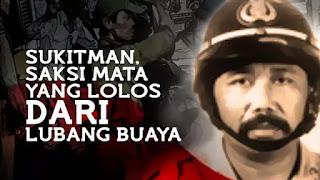 Cerita Sukitman, Saksi Hidup yang Selamat dari Lubang Buaya G30S PKI
