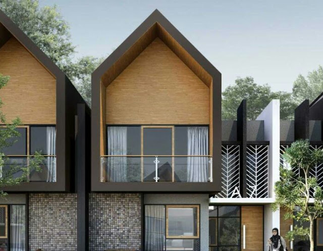 Front view house design