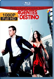 Los Agentes Del Destino [2011] [1080p BRrip] [Latino-Inglés] [LaPipiotaHD]
