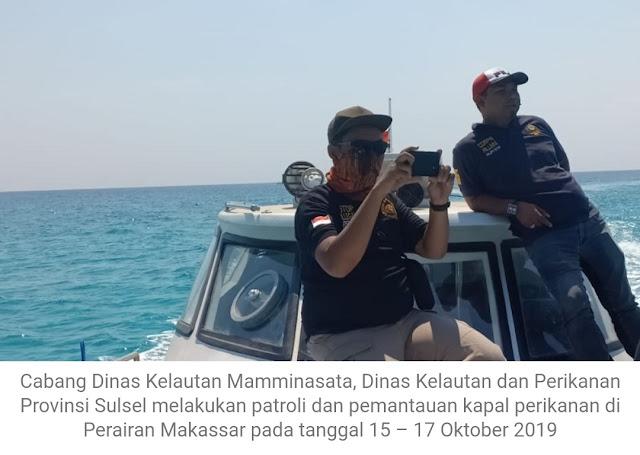 CDK Mamminasata, Gelar Patroli Dan Pantau Aktivitas Kapal Perikanan