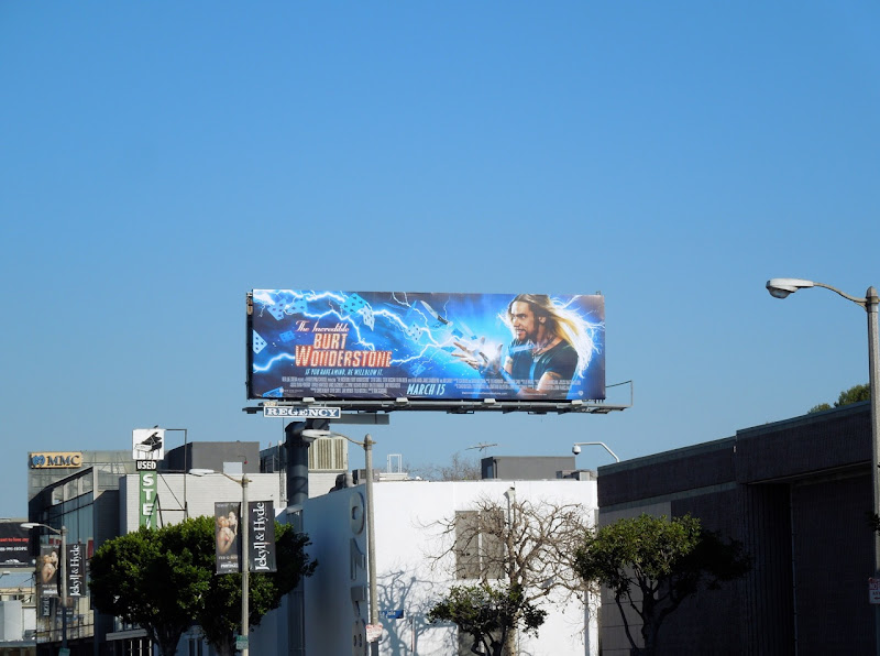 Jim Carrey Burt Wonderstone billboard