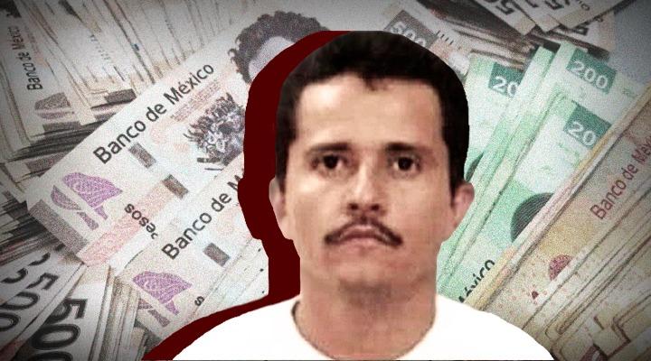 Mil millones de pesos le quitan al Cártel Jalisco Nueva Generación
