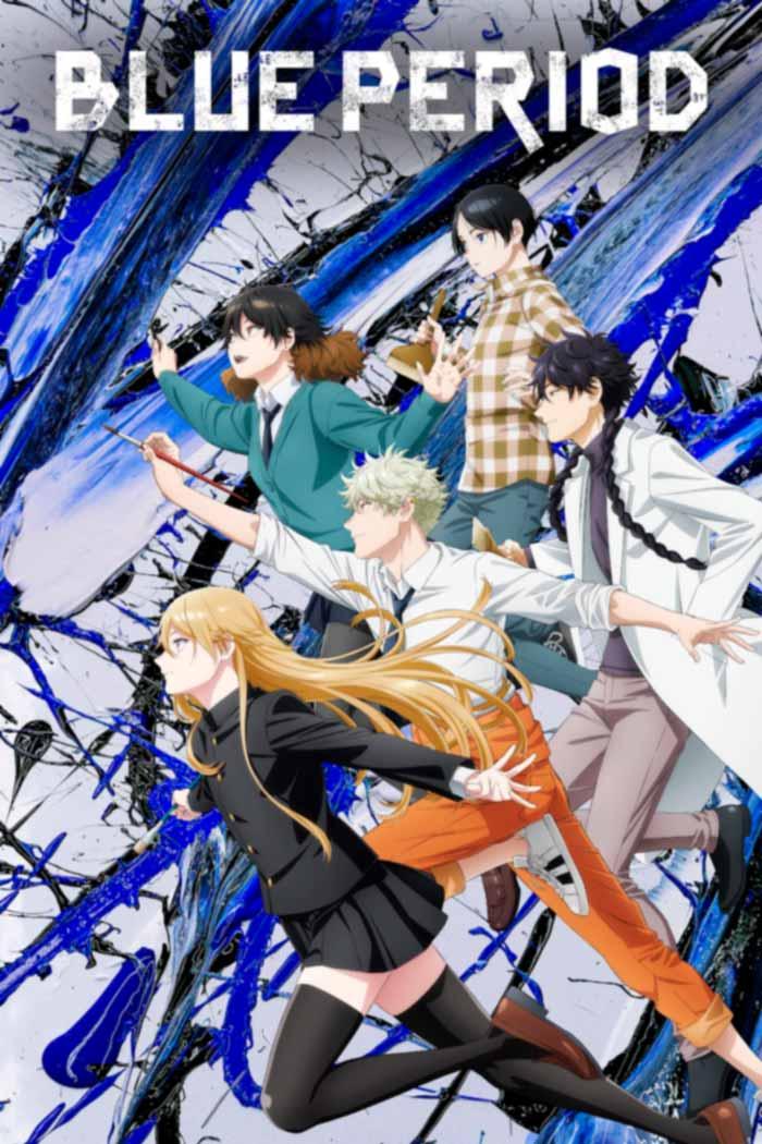 Blue Period anime - poster - Netflix