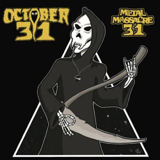 """Δύο τραγούδια από τον δίσκο διασκευών των October 31 """"Metal Massacre 31"""""""