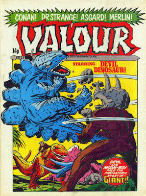 Valour #8, Devil Dinosaur
