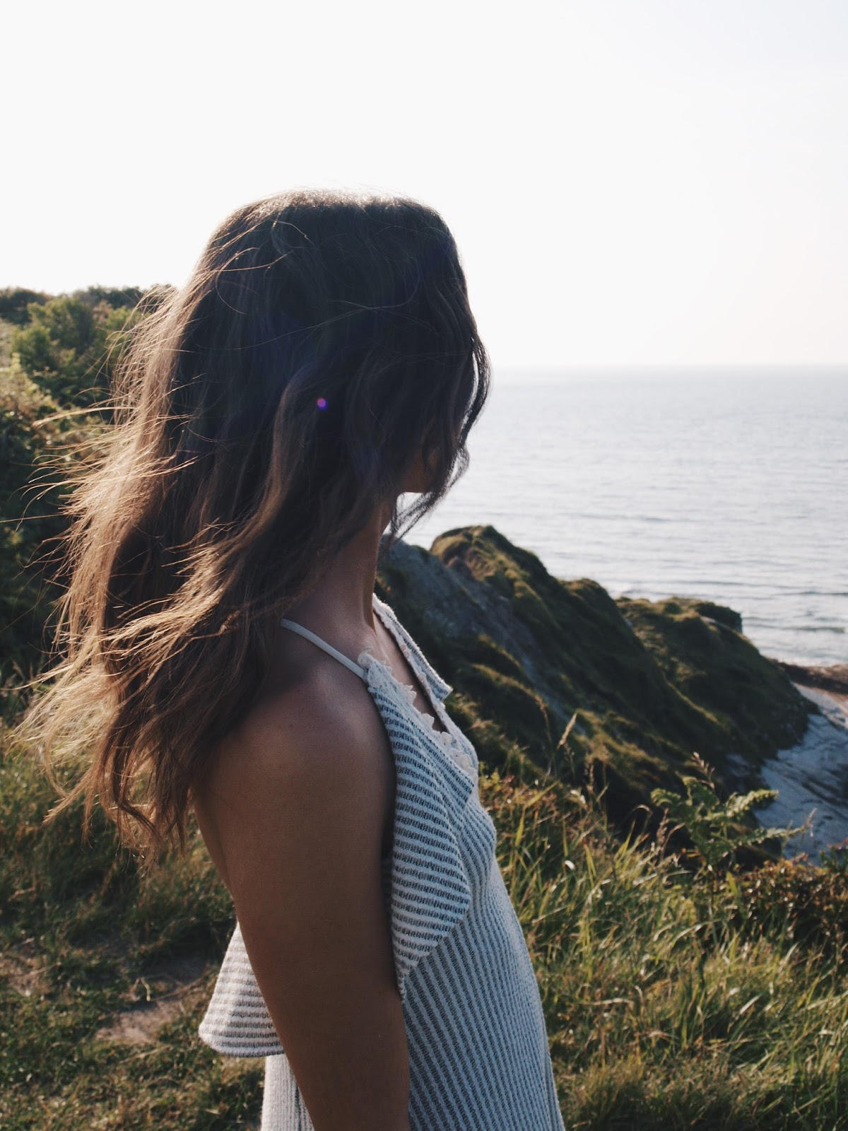 hendaye-corniche-chateaudabbadia-coastalandco-blog-blogger-gipsy-fashion-zara-dress-bohemian-wild