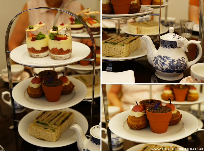 Afternoon tea at St Ermin's Hotel
