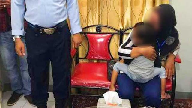 Sambil Gendong Anak Usia 40 Hari, Ibu Muda ini Gerebek Suaminya yang Sedang Selingkuh di Hotel