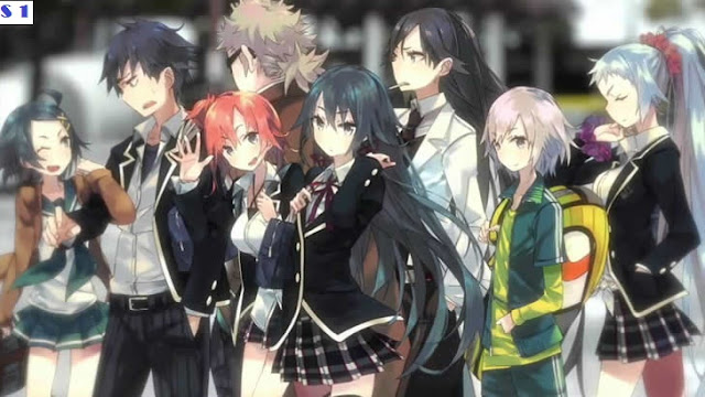 Oregairu S1 BD [Batch] Subtitle Indonesia + OVA