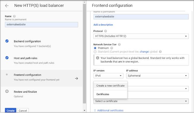 google-cloud-cdn-frontend-configuration