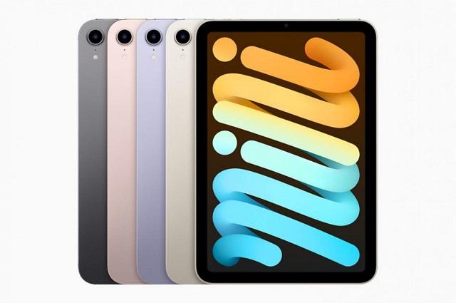 بدون زر صفحة رئيسية.. آبل تكشف عن iPad mini 2021