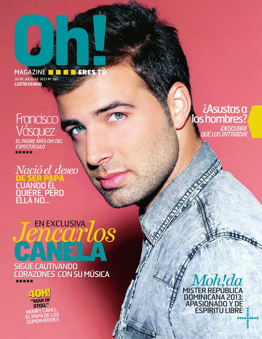6682fa08ca Oh magazine - Jencarlos Canela