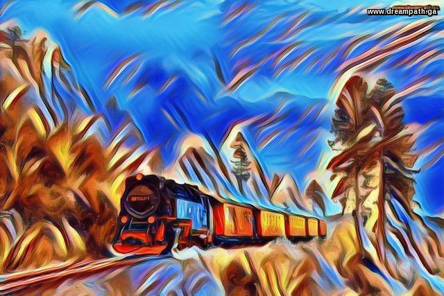 Train in the Land of Fantasy