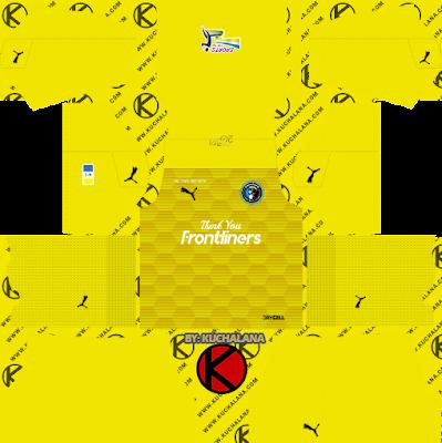 Penang FC Kits 2021 -  DLS2019 Kits