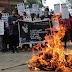 केवाईएस ने गार्गी कॉलेज में हुए यौन-उत्पीड़न के खिलाफ किया विरोध प्रदर्शन  KYS protests against sexual harassment at Gargi College