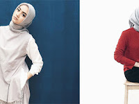 OOTD Hijab Simple dan Stylish ala Ayudia Bing Slamet