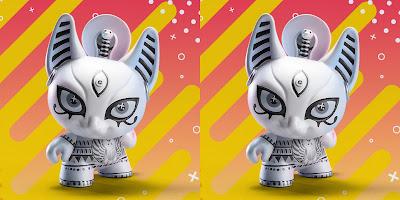 "Designer Con 2019 Exclusive Spiritus Dea Bastet 3"" Dunny by Candie Bolton x Kidrobot"