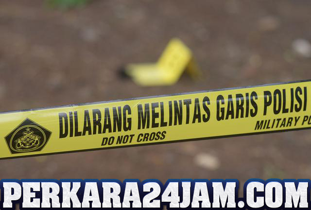 Kepolisian Memastikan Pria Tergeletak Ditengah Jalan Korban Pembunuhan